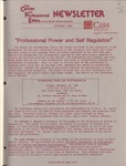 Newsletter: The Center for Professional Ethics, October 1986